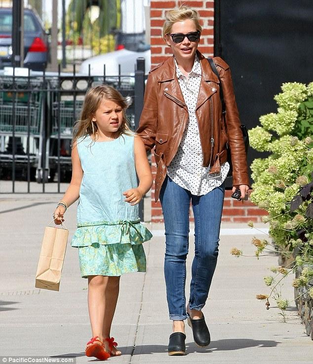 Eis Matilda Rose, a filha de Michelle Williams com o saudoso Heath Ledger