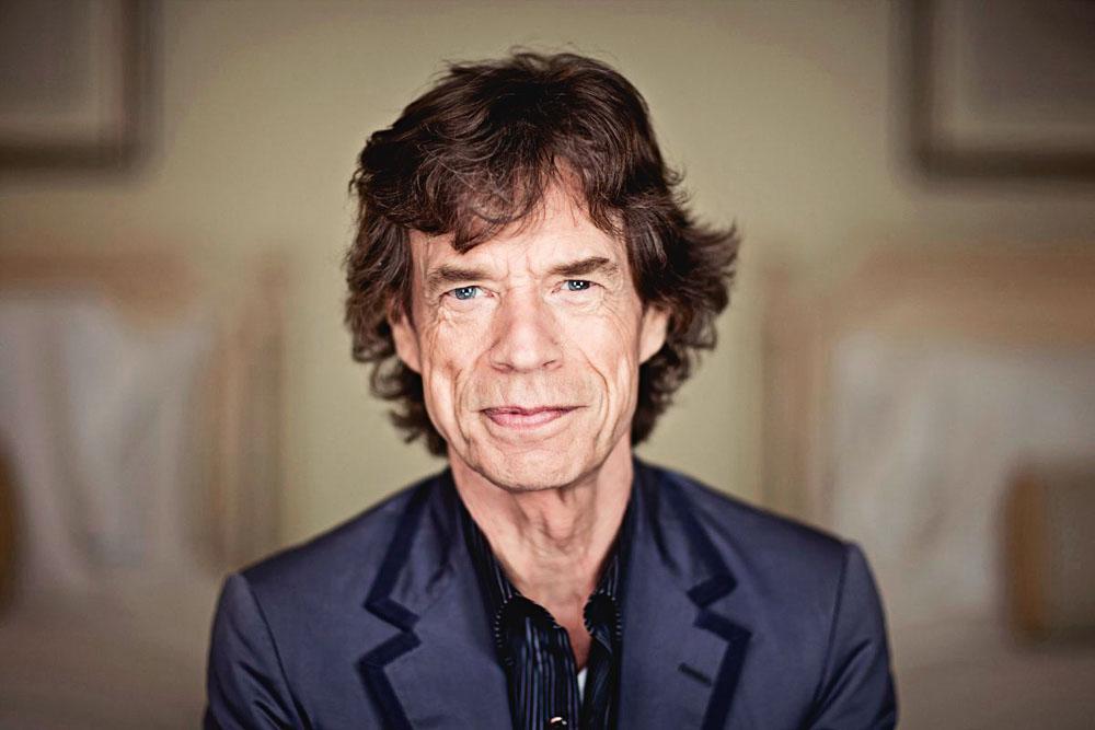 Mick Jagger: visita ao colégio de Lucas (Foto: Divulgação)
