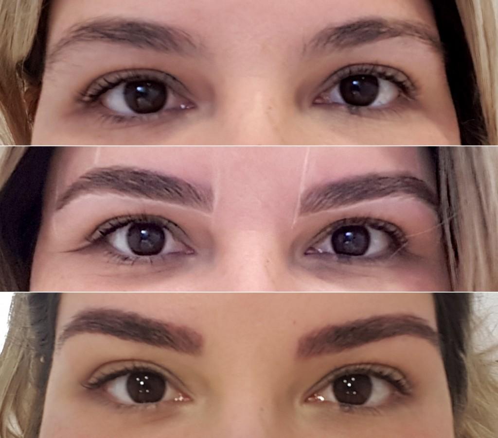 O antes e depois da micropigmentação