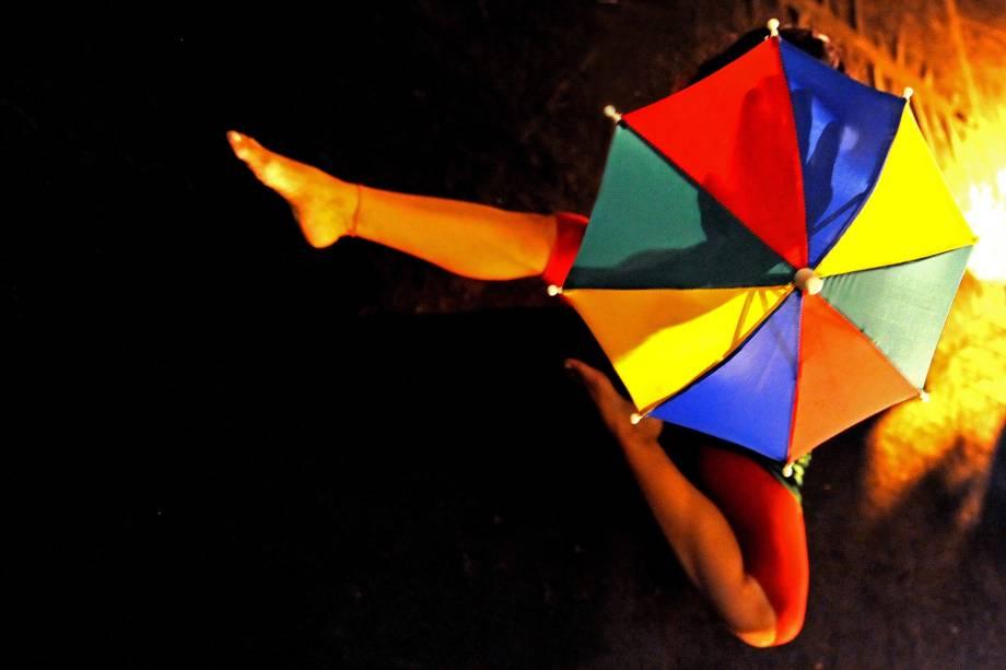 """Apresentação """"Mil Brasis"""", do Núcleo Pé de Zamba, faz parte da programação de Carnaval, do Sesc Belenzinho"""