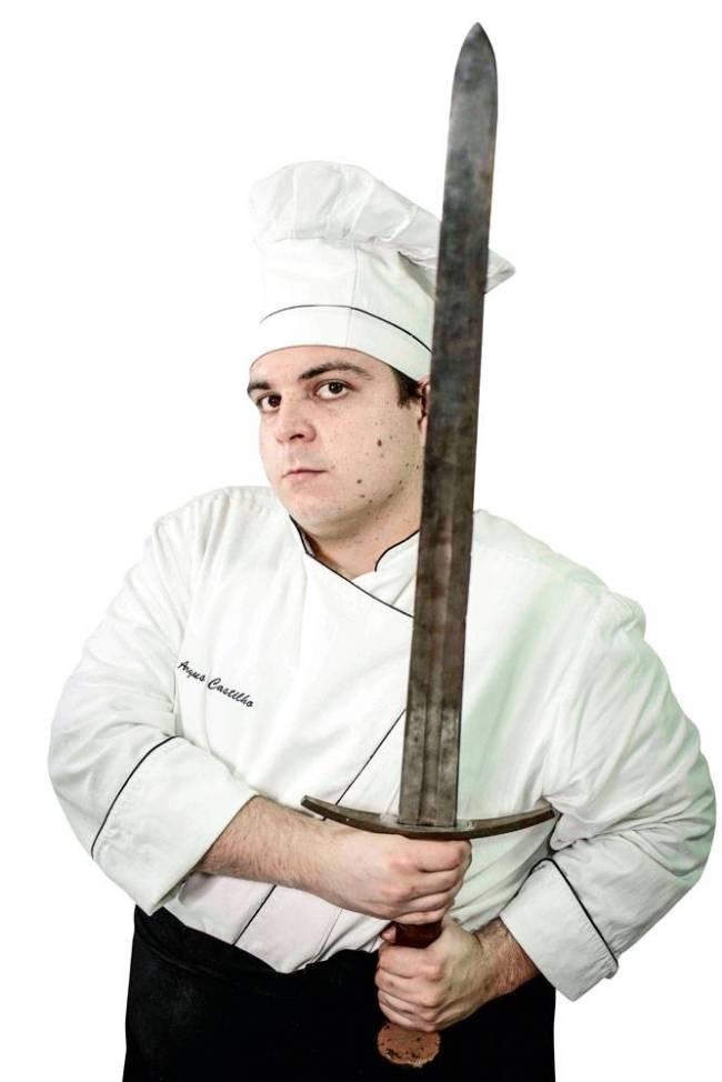 Chef Argus Castilho - restaurante Milord Taverna