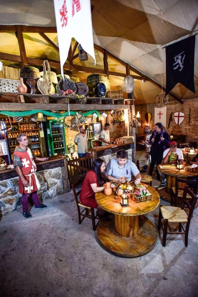 Milord Taverna - ambiente do restaurante