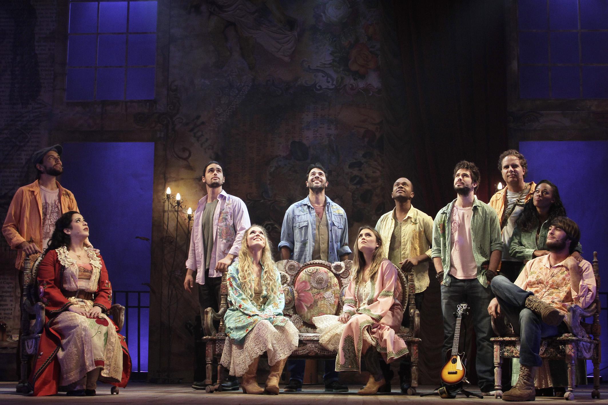Musical dirigido por Charles Möeller e Claudio Botelho reestreia no sábado   (Foto: Guga Melgar)