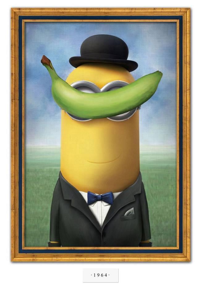 Meu pintor preferido: Magritte-Minion