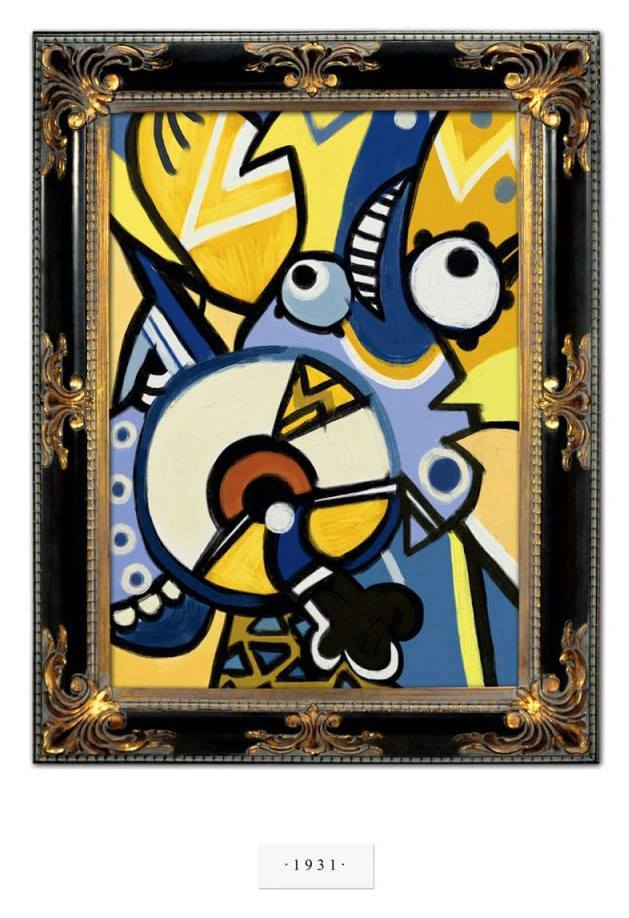 Minions by Picasso