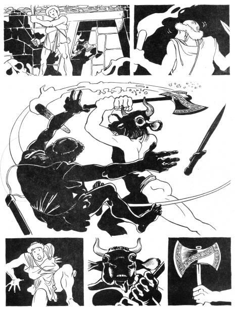 Minotauro, para revista Geraldão (1987-1989)