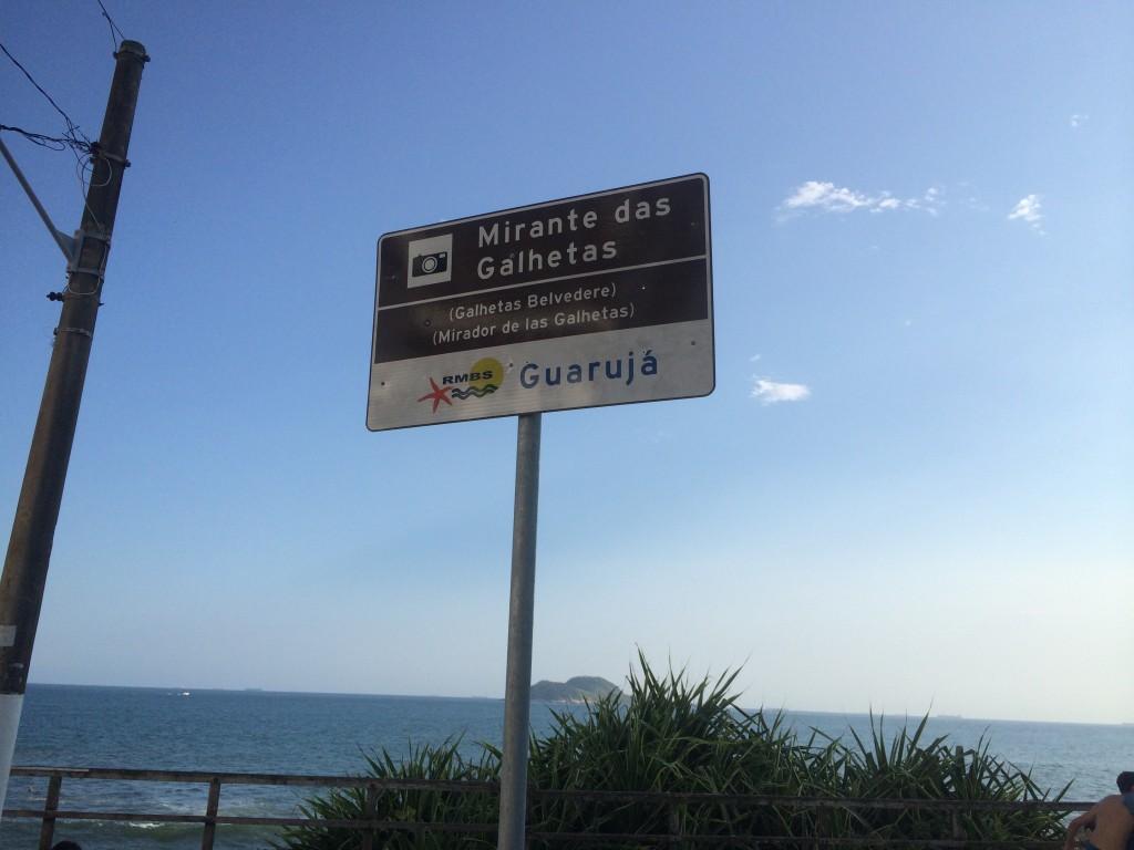 Todos os mirantes da cidade são bem sinalizados, facilitando o acesso (Foto: Fábio Lemos Lopes)