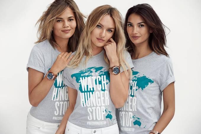 Chrissy Teigen, Candice Swanepoel e Lily Aldridge