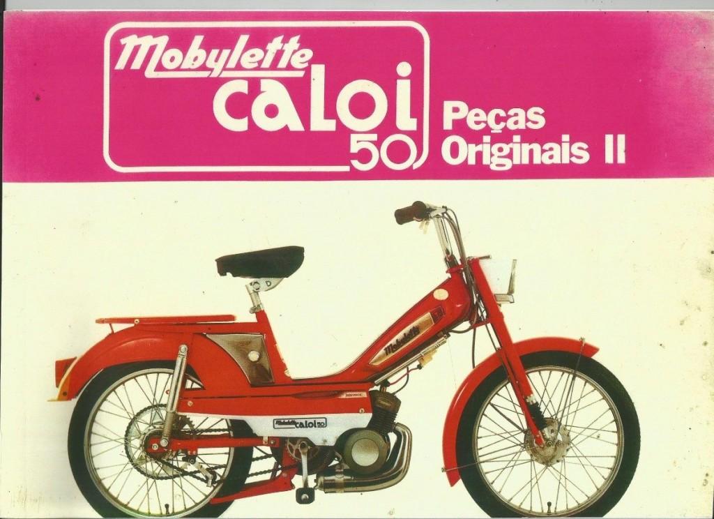 Propaganda da Mobylette, da Caloi, nos anos 80