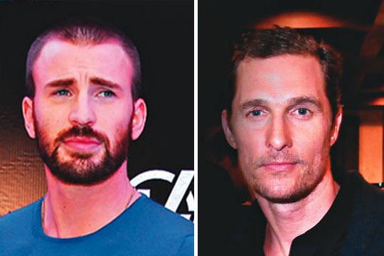 McConaughey e Evans