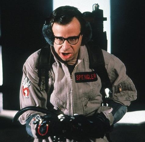 Rick Moranis em Os Caça-Fantasmas 2, de 1989