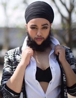 mulher-barba