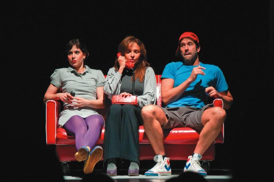Mel Lisboa, Luiza Tomé e Daniel Del Sarto: a comédia Mulheres Alteradas
