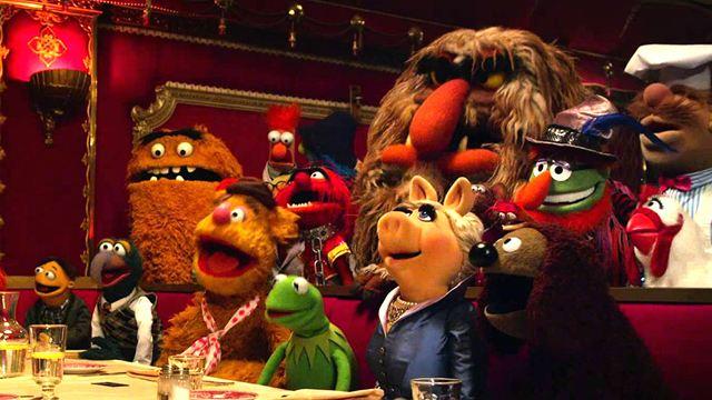 Dia 26/9 - Muppets 2 - Procurados e Amados - os bonecos retornam para uma nova aventura