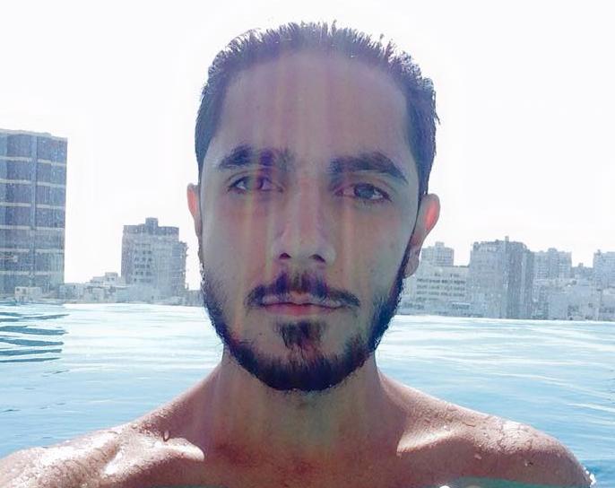 Murilo Aguiar: insuktado e agredido dentro de boate GLS (Foto: Reprodução/Facebook)