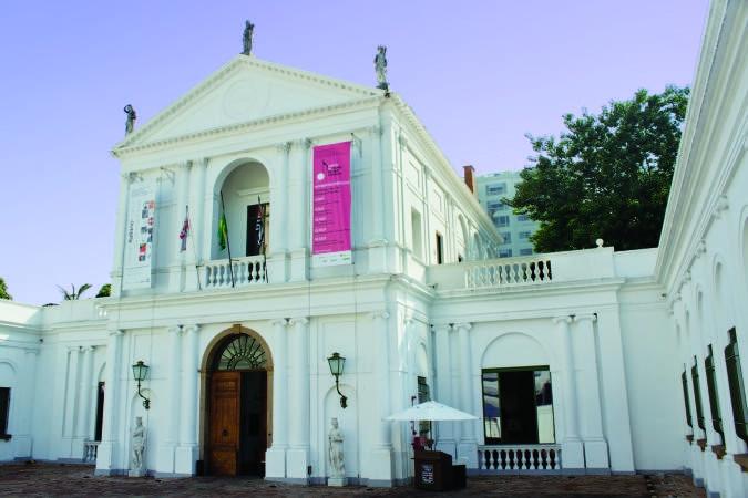 Museu da Casa Brasileira, na Avenida Faria Lima, em Pinheiros (Foto: Marcelo Sarmento)