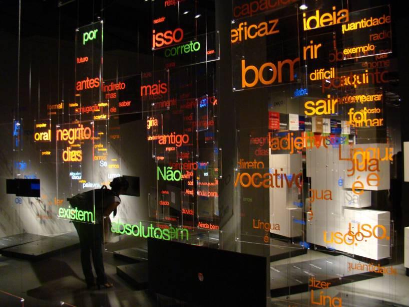 Museu da Língua Portuguesa antes do incêndio