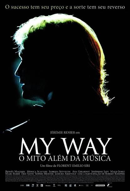 Pôster de My Way — O Mito Além da Música: drama biográfico