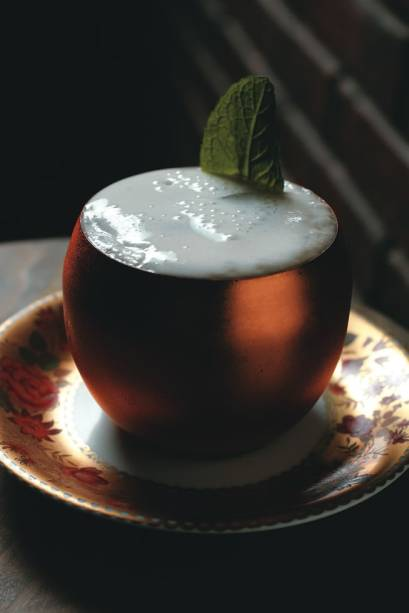 O coquetel moscow mule