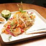 Wok de camarão e abacaxi com arroz frito: R$ 53,48
