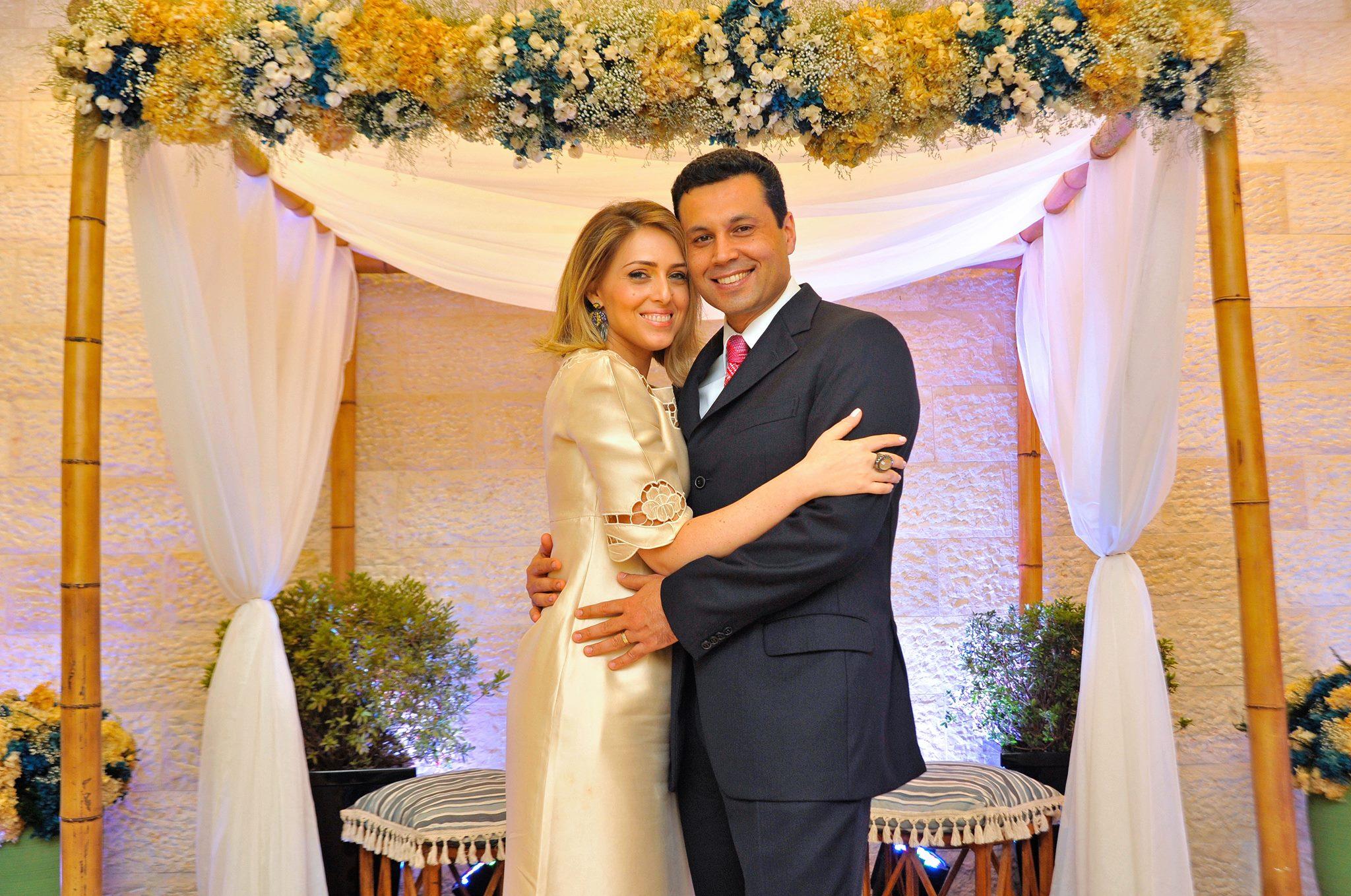 """O casal Christiane e Renato Cardoso. """"A maioria dos divórcios começa no namoro"""", ela ensina"""
