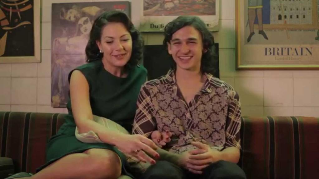 Não Pare na Pista: Fabiula Nascimento interpreta a mãe do escritor Paulo Coelho na adolescência (papel de Ravel Andrade)