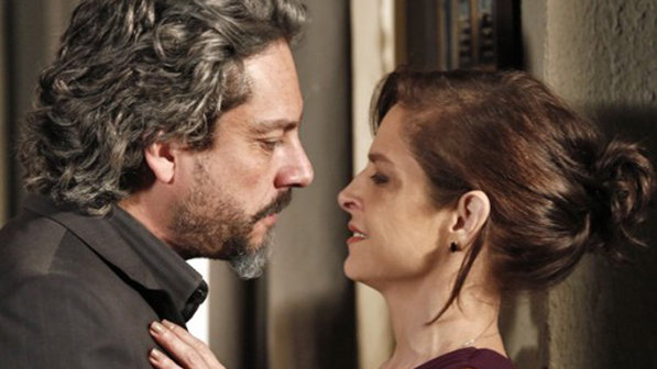 Nero e Drica Moraes em cena da novela Império