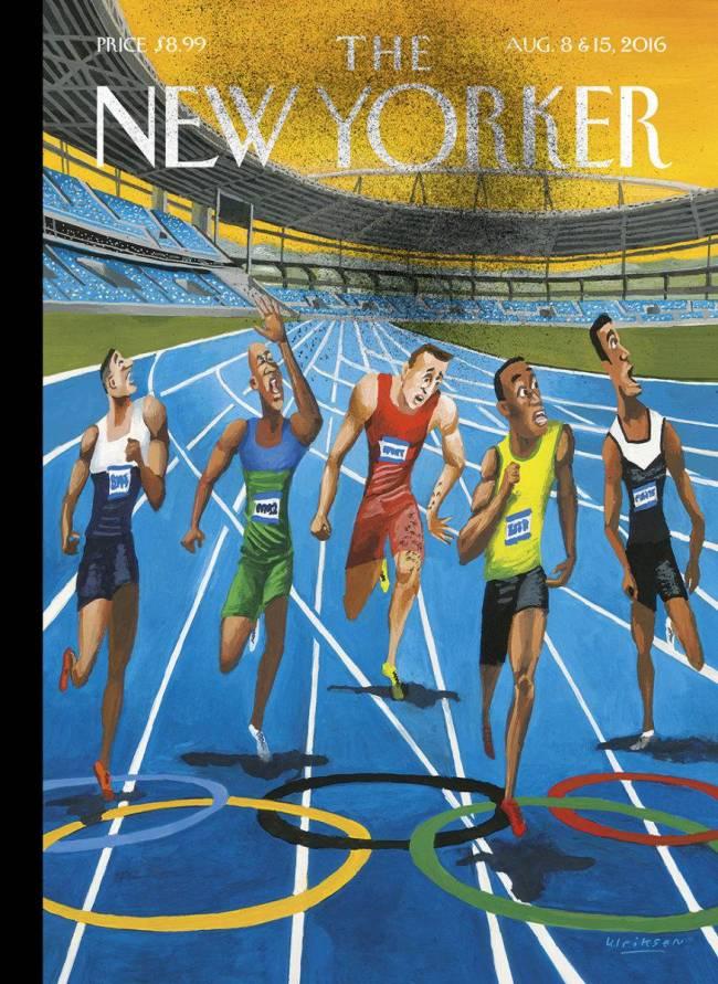 capa new yorker zika olimpíadas