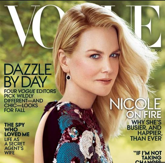 A atriz na capa da Vogue: polêmica sobre uso excessivo de Photoshop