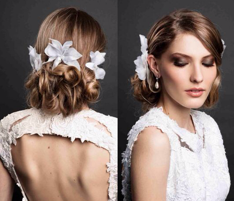 Penteado para noivas agora pode, e deve!, ser moderno