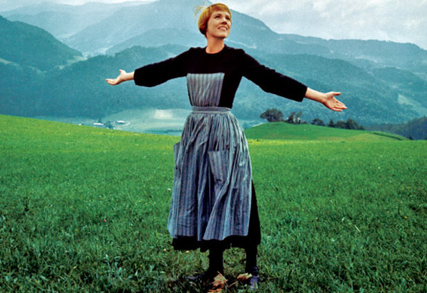 A Noviça Rebelde, com Julie Andrews: dias 14, 15 e 18 de novembro