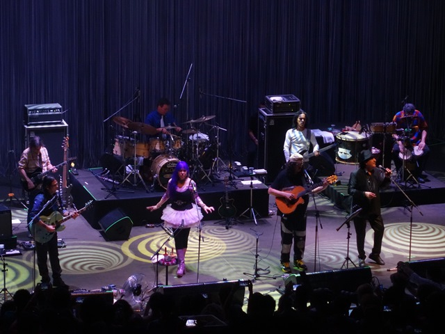Novos Baianos, na reinauguração da Concha Acústica (foto: Rudah Poran)
