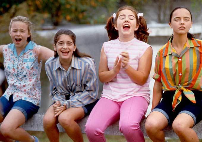 Thora, Gaby, Ashleigh e Christina: o quarteto de Agora e Sempre