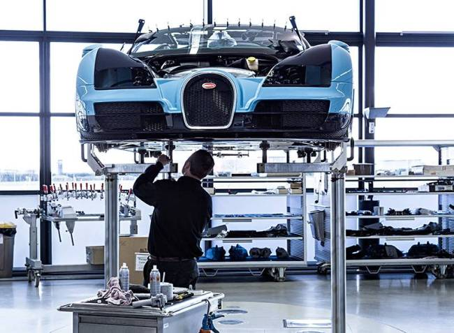 Bugatti Veyron - edição 2376 luxo
