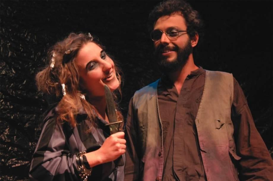 Aline Moreno e Thiago Bugallo: limites estreitos entre a vida e a morte