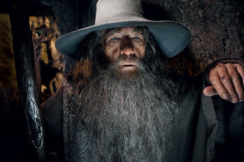 O Hobbit - A Desolação de Smaug: o ator Ian McKellen