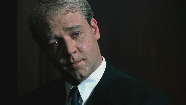 O Informante (1999): envelhecimento e ótima atuação lhe rendeu a primeira indicação ao Oscar