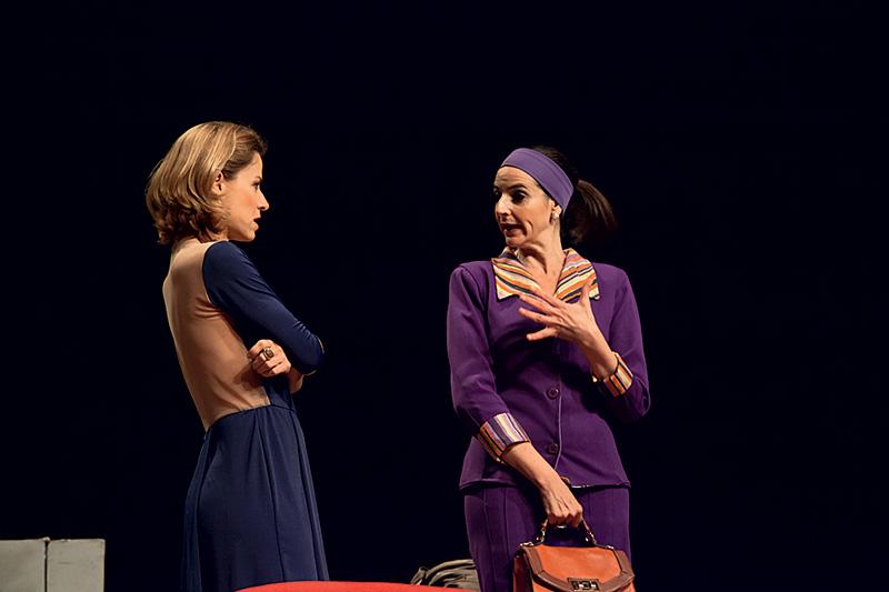 Vera Zimmermann e Ilana Kaplan despedem-se da comédia O Terraço