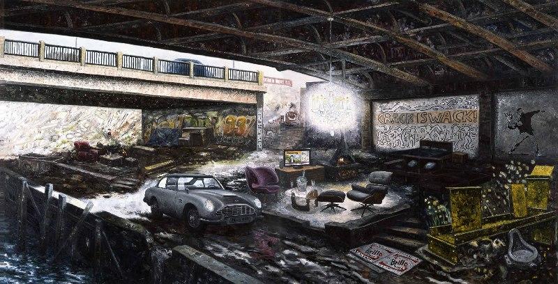Occupy Everywhere (2011): habitações improvisadas sob um viaduto