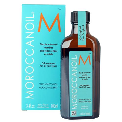 O poderoso óleo de argan da Morocannoil. Ele promove hidratação instantânea nos fios. Preço sugerido: R$