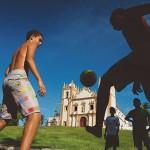 Momento sagrado: a hora da pelada, em Olinda (PE) (Crédito: Caio Vilela)