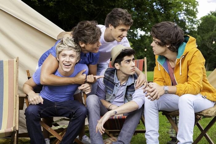 Foto da banda One Direction