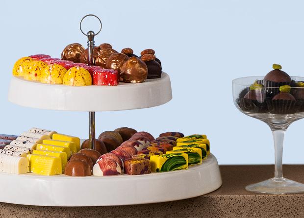 Bombons da Opera Ganache: a opção maciça amarga leva chocolate 70% de cacau (Foto: Mario Rodrigues)