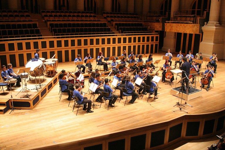 Orquestra Filarmônica Infanto Juvenil: presente na estreia de O Agente das Quatro Estações