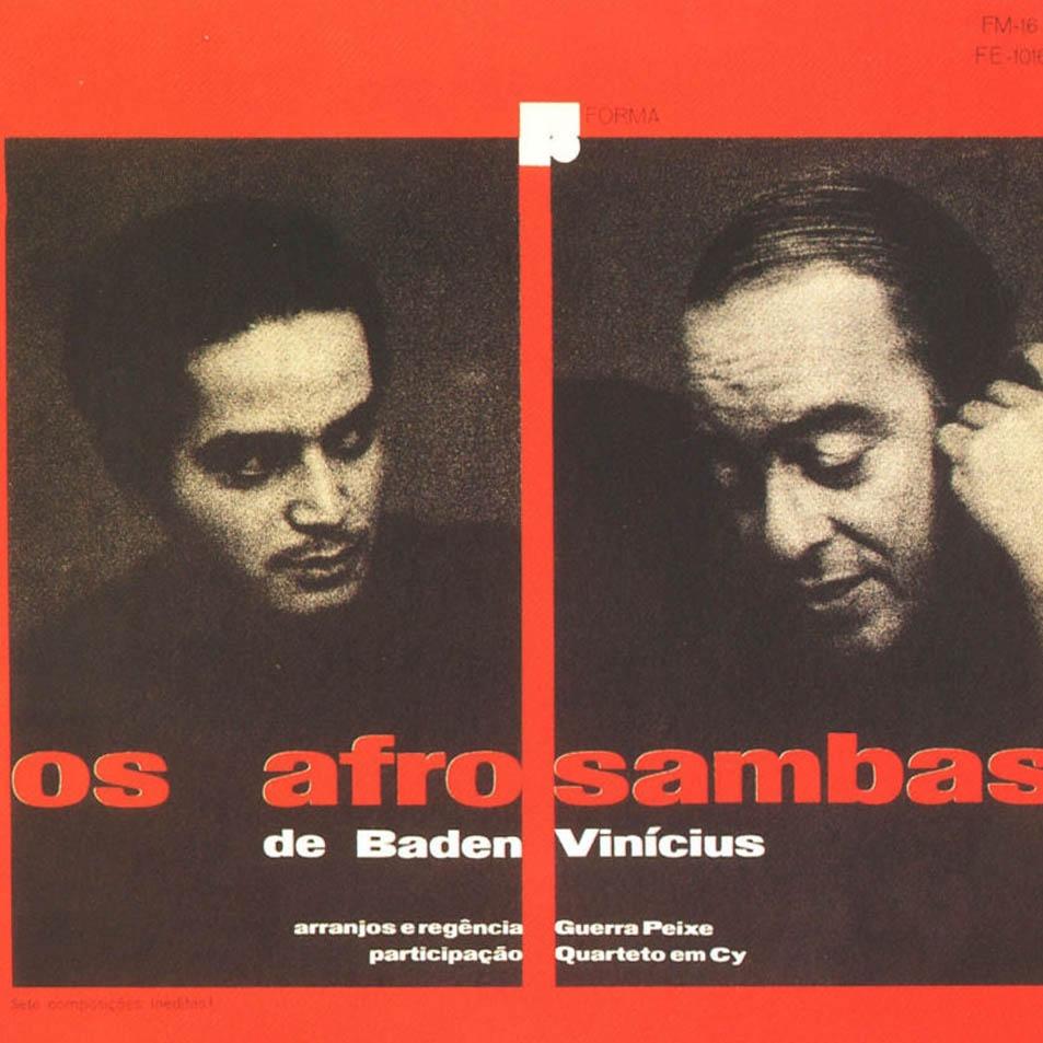 A capa do LP: letras de Vinicius e música de Baden Powell