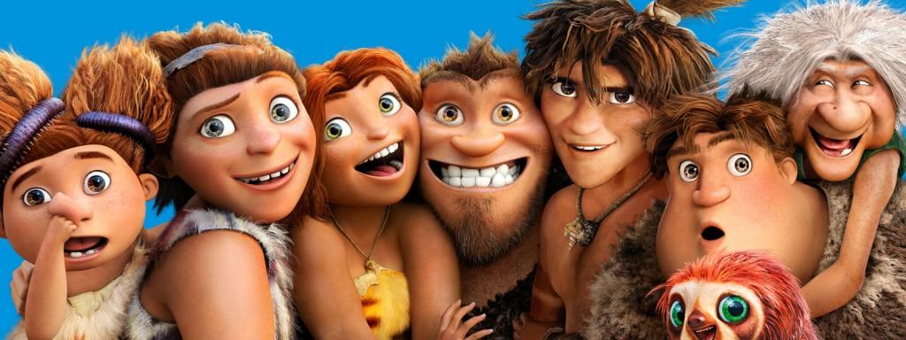 A animação Os Croods já foi lançada em DVD e Blu-Ray