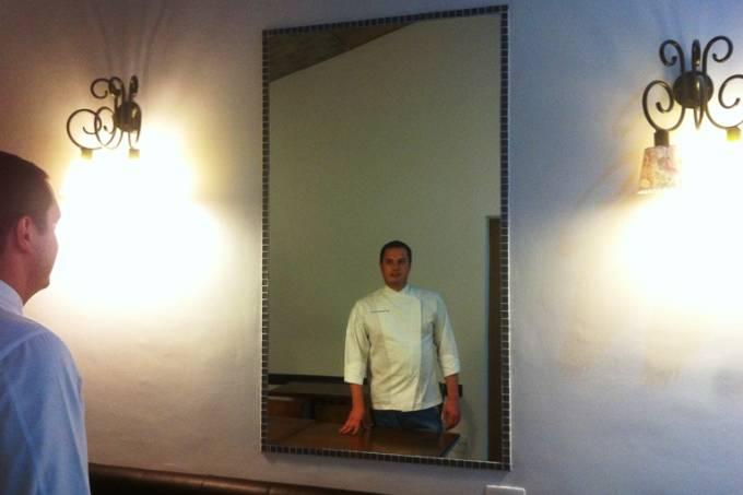 Guerreiro Ottoboni: dono do próprio restaurante (Foto: Arnaldo Lorençato)