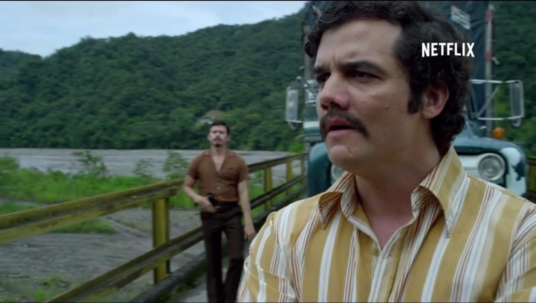 Wagner Moura: como Pablo Escobar