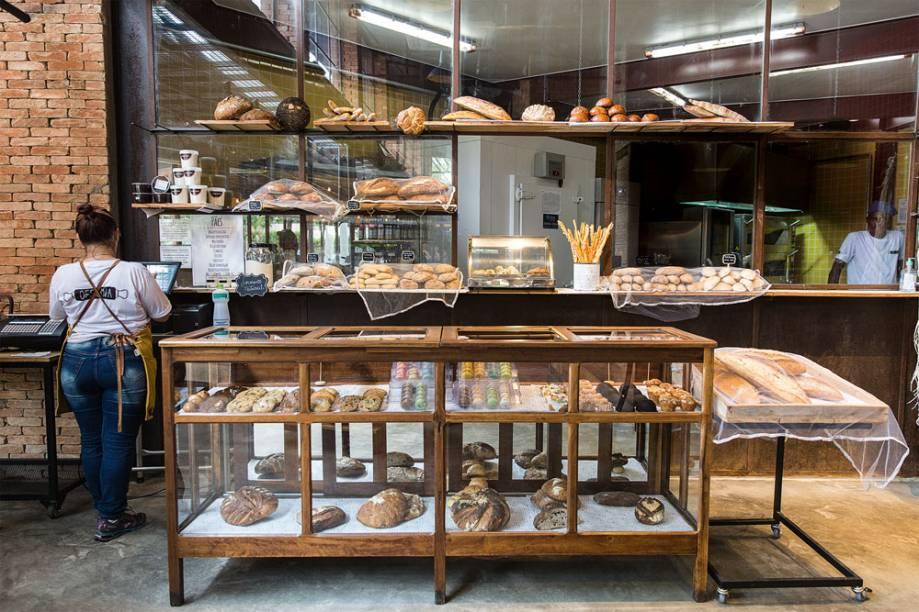 Balcão de pães e doces: entre os predicados do endereço do Brooklin