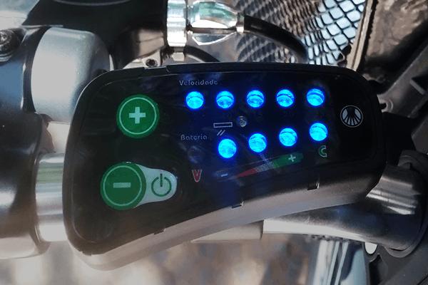 painel bike elétrica